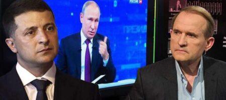 Минус Медведчук — Зеленский прокомментировал дело кума Путина