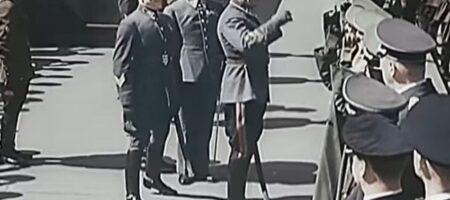 Появилось архивное видео парада в Москве с гитлеровскими военными в мае 1941 года