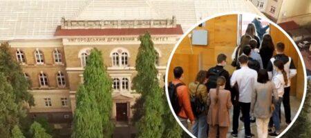 В университете Ужгорода - скандал: экзамены по медицине сдавали совсем не студенты