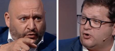 Арьев с Добкиным повздорили в прямом эфире (ВИДЕО)