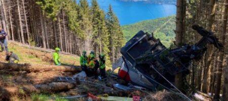 Опубликовано ВИДЕО обрыва канатной дороги, где погибли 14 человек