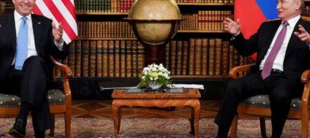 Обнародован текст совместного заявления Путина и Байдена