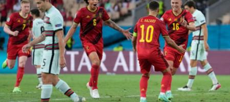 ЕВРО 2020: Бельгия победила Португалию и вышла в четвертьфинал Евро-2020
