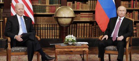 Тема Украины затрагивалась — Путин о переговорах с Байденом