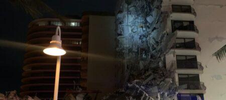 Возле Майами рухнул 12-этажный дом, под завалами ищут людей (ФОТО и ВИДЕО)