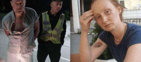 Пьяный СБУшник жестоко избил женщину-полицейского: судья его оправдала