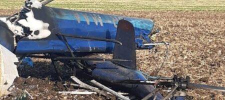 Появилось видео после крушения вертолета под Николаевом