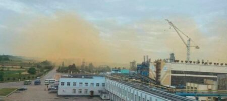 На химзаводе под Ровно произошла авария (ВИДЕО)