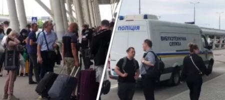 Во львовском аэропорту обнаружили подозрительную сумку: пассажиров эвакуировали (ВИДЕО)