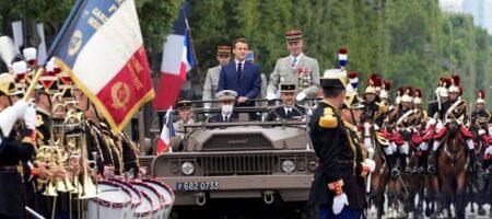 День взятия Бастилии: в Париже прошел парад