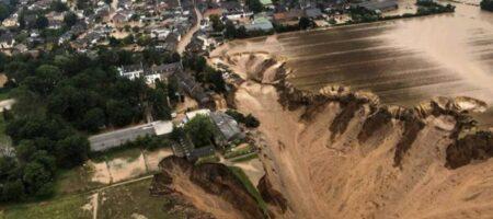 """""""Потоп века"""": показали фото разрушительной стихии в Германии"""