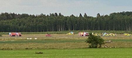 В Швеции сразу после вылета из аэропорта разбился самолет