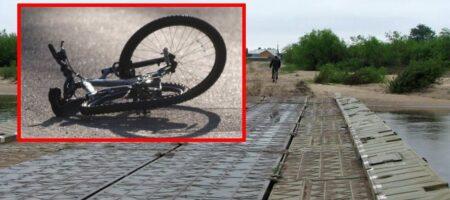 Под Ровно погиб 14-летний мальчик, который на велосипеде ехал через аварийный мост