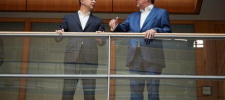 Зеленский в Берлине встретился с возможным преемником Меркель (ФОТО)
