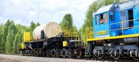 В Украине участок железной дороги отведут под перевозку радиоактивных отходов