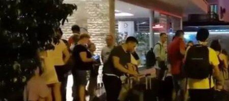 Пожары в Турции: туристы бегут с популярного курорта (ФОТО, ВИДЕО)