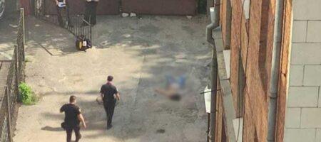 В Харькове женщина выпрыгнула с 7 этажа (ВИДЕО)