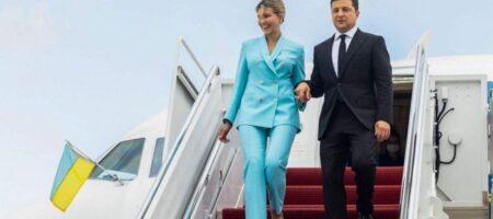 Владимир Зеленский прибыл в США