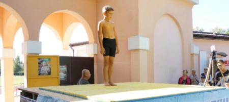 9-летний мальчик установил рекорд Украины