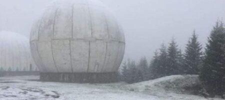 В Украине выпал первый снег (ФОТО)