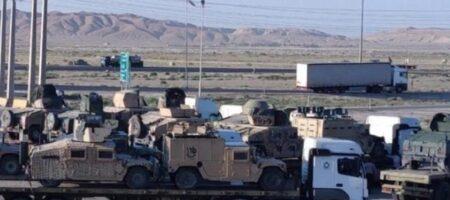 Иран забрал часть американской бронетехники из Афганистана – СМИ
