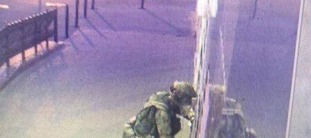 В России вооруженный мужчина напал на отделение полиции