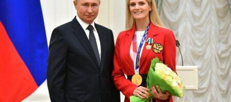 """Украинская спортсменка-любительница РФ сделала фото с Путиным: """"Я счастлива стоять рядом с вами"""""""